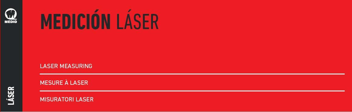 Cabecera medición laser