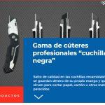 """Noticia en Iberferr, Nueva Gama de cúteres profesionales """"cuchilla negra"""""""