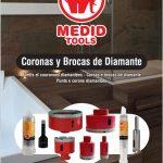 Medid Lanza la nueva gama de  Brocas y Coronas de Diamante