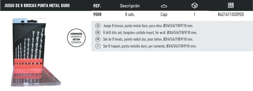 brocas 9008
