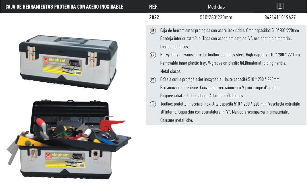 caja de herramientas 2822