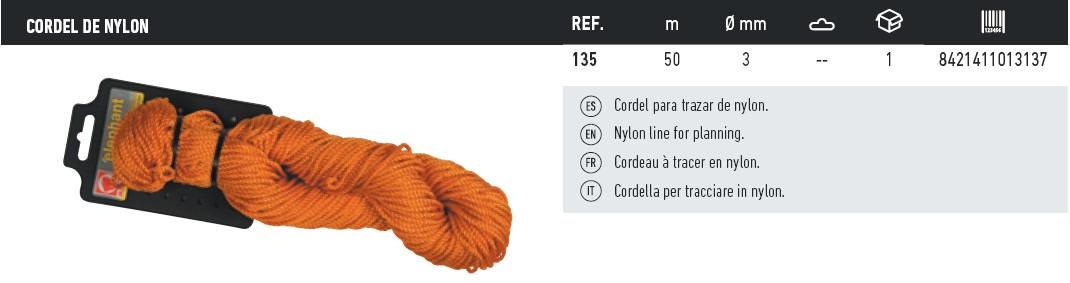 cordel de nylon