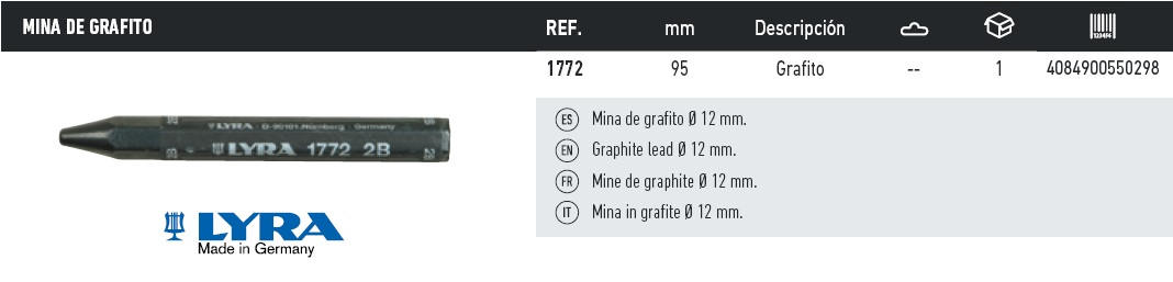 mina de grafito