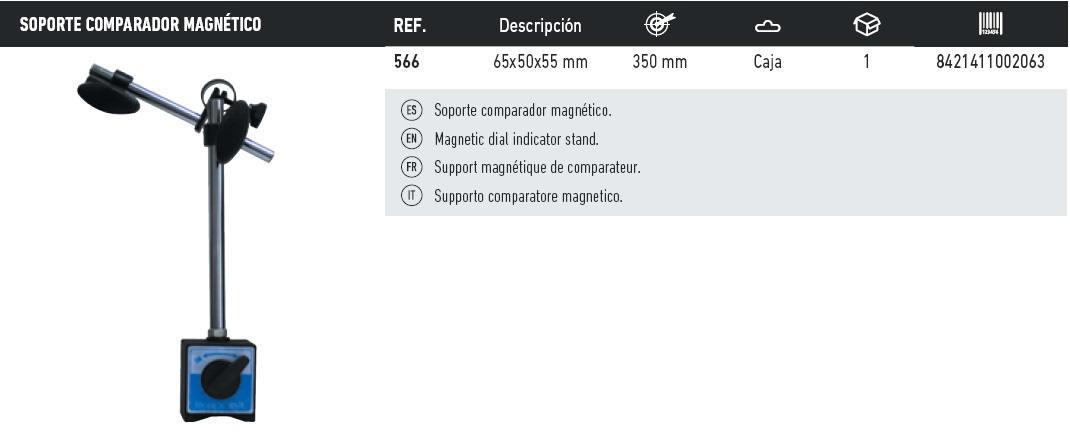 tabla soporte comparador magnetico
