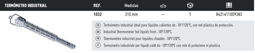 termometro industrial