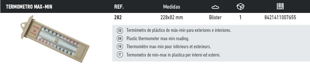termometro max-min