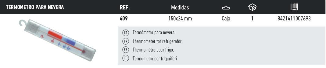 termometro para nevera