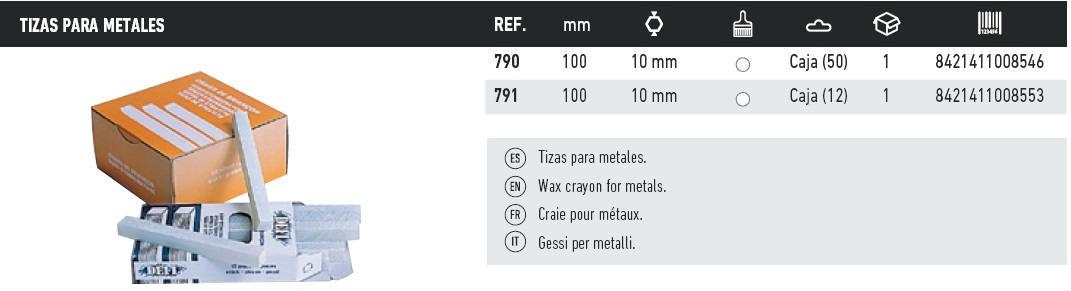 tizas para metales