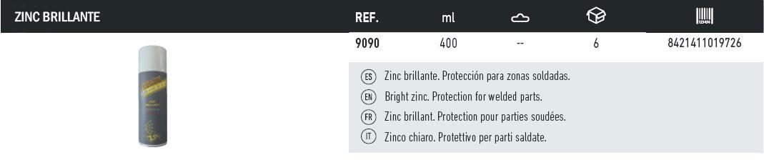 zinc-brillante